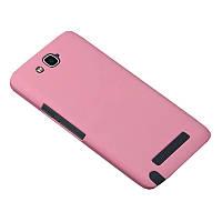 Чехол Colored Plastic для Alcatel OneTouch Hero 8020 / 8020D Розовый