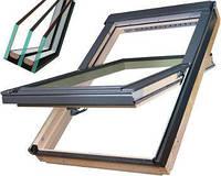 Мансардне вікно Fakro FTS-V U4, Двухкамерные Мансардные окна FAKRO FTS-V U4 78х98