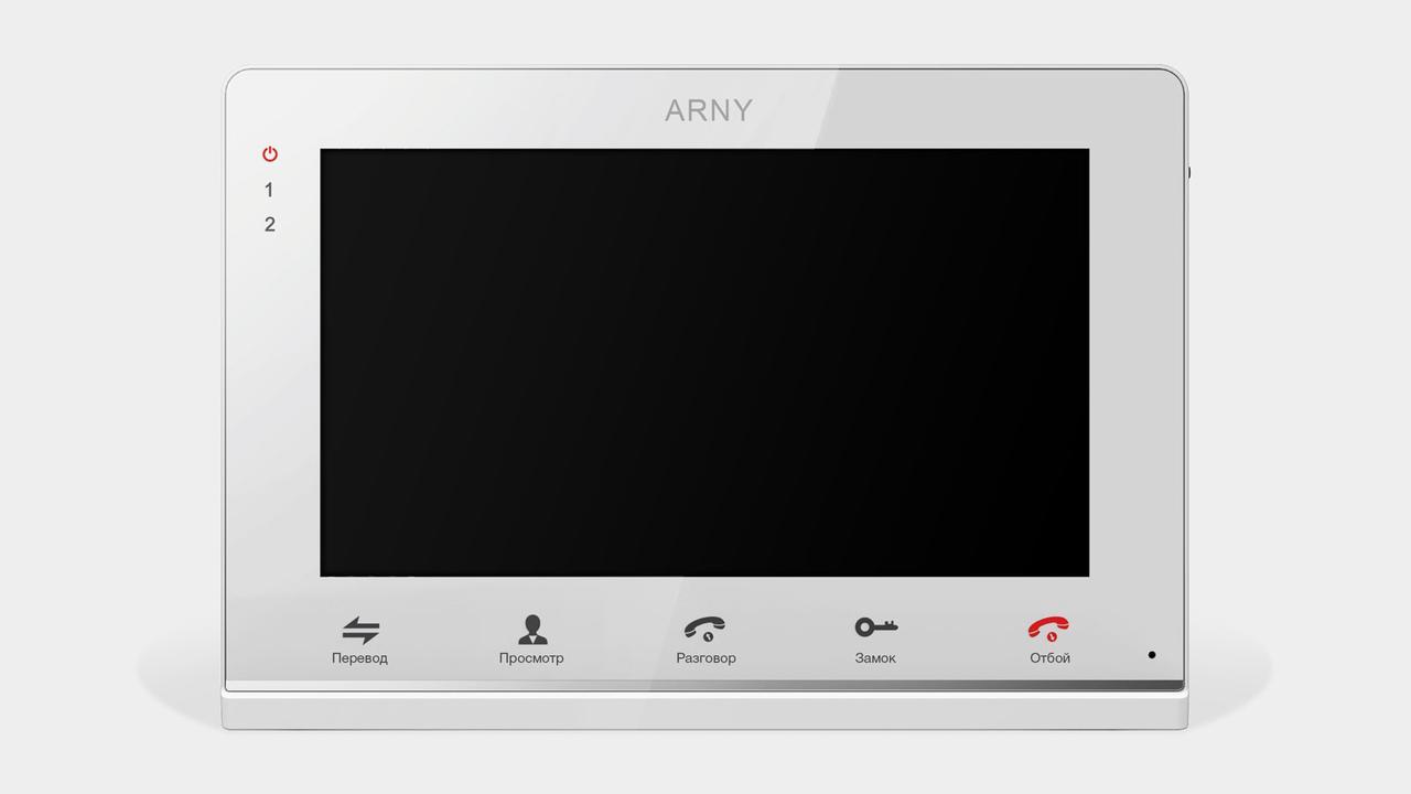 Видеодомофон Arny AVD-715M (white)