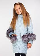 Куртка Сара мята, 128