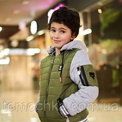 Теплая куртка ветровка на осень для мальчика