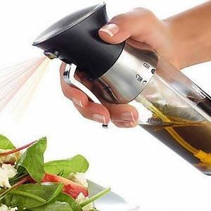 Распылитель для масла и уксуса соуса 2 в 1 Herisson дозатор разбрызгиватель кухонный на 2 отсека