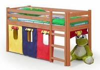 Кровать  детская NEO с матрасом ольха Halmar