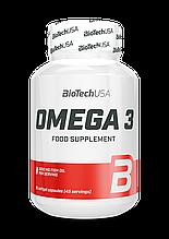 Рыбий жир Biotech Omega 3 90 желатиновых капсул