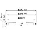 Светодиодная лампа Philips ESSENTIAL LEDtube 1500mm 25W 840 I, фото 2