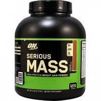 Optimum nutrition serious mass - 2,72 - Шоколад, фото 1