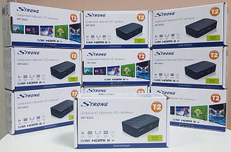 Приставка Т2 тюнер ресивер декодер DVB-T2 Strong SRT-8203 IPTV YouTube MeGoGo
