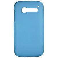 Чехол Colored Plastic для Alcatel OneTouch POP C5 5036X / 5036D Голубой