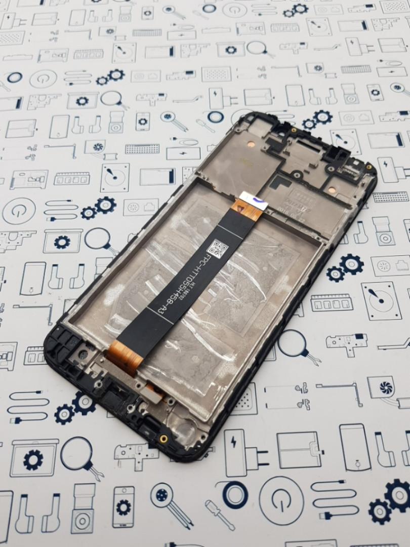 Уценка.Дисплей Huawei Y5 2018 DRA-L21 модуль черный Сервисный оригинал с разборки