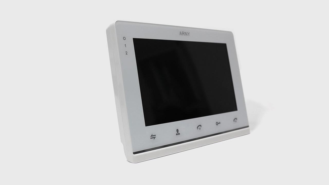 Видеодомофон Arny AVD-710MD (white) 2