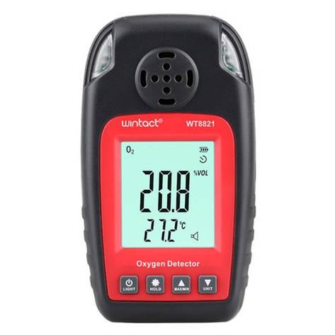 Монітор кисню O2+термометр (0-25% VOL 0-50°C), фото 2