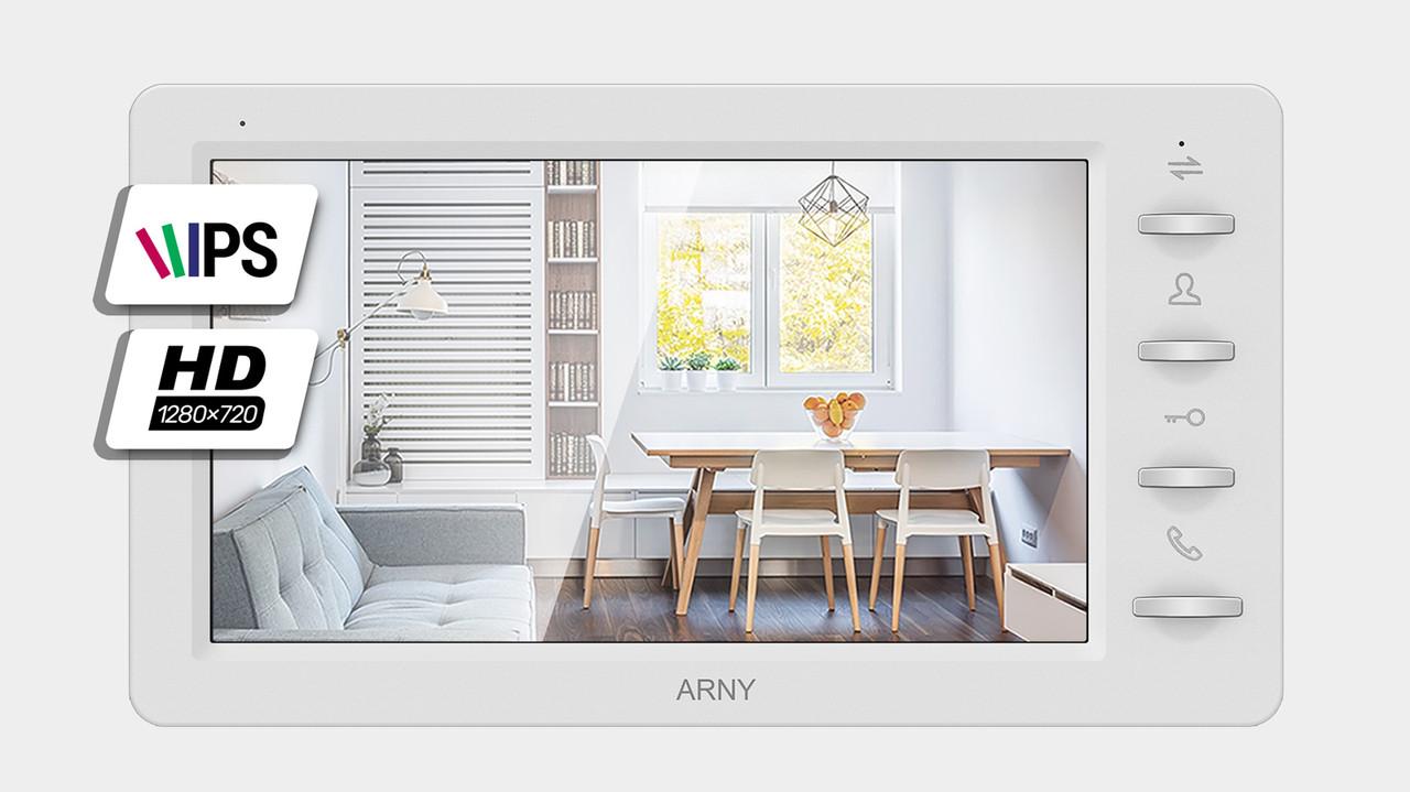 Видеодомофон Arny AVD-709 1MPX (white) 3