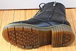 Мартинсы кожаные демисезонные женские от производителя модель СК107, фото 4