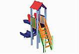 Детский комплекс Мини с пластиковой горкой Спираль, фото 3
