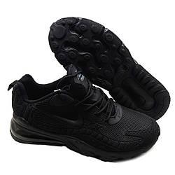Кроссовки мужские черные Nike Air Max 270 React