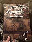 Подарочный бумажный пакет ЧАШКА 16*16*8 см Прованс, фото 2