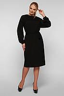 Вязаное платье Эмили черное, фото 1