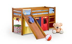 Кровать детская NEO PLUS с матрасом ольха Halmar