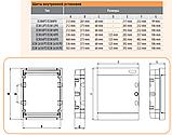 Встраиваемый щит IP40 ETI ECM-8PT 8 модулей 1101010 (распределительный, модульный, с прозрачной дверцей), фото 2