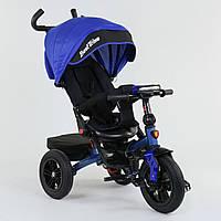 Велосипед 3-х колёсный Best Trike с поворотным сиденьем 9500 - 7820, складной руль, русское озвучивание, надувные колеса, свет