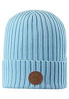 Демисезонная шапка для мальчика Reima Hattara 538051-6180. Размеры 48/50 -  56/58.