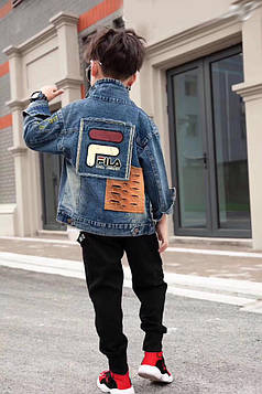 Куртка джинсовая на мальчика Фила