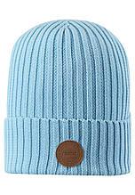 Демисезонная шапка-бини для девочки Reima Hattara 538051-6180. Размеры 48/50, 52/54 и 56/58.