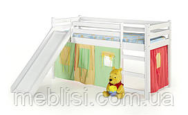 Кровать детская NEO PLUS с матрасом белый Halmar