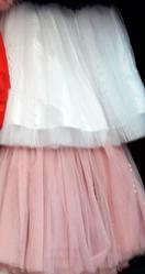 Нарядная подростковая пышная юбка из фатина размеры 140-164