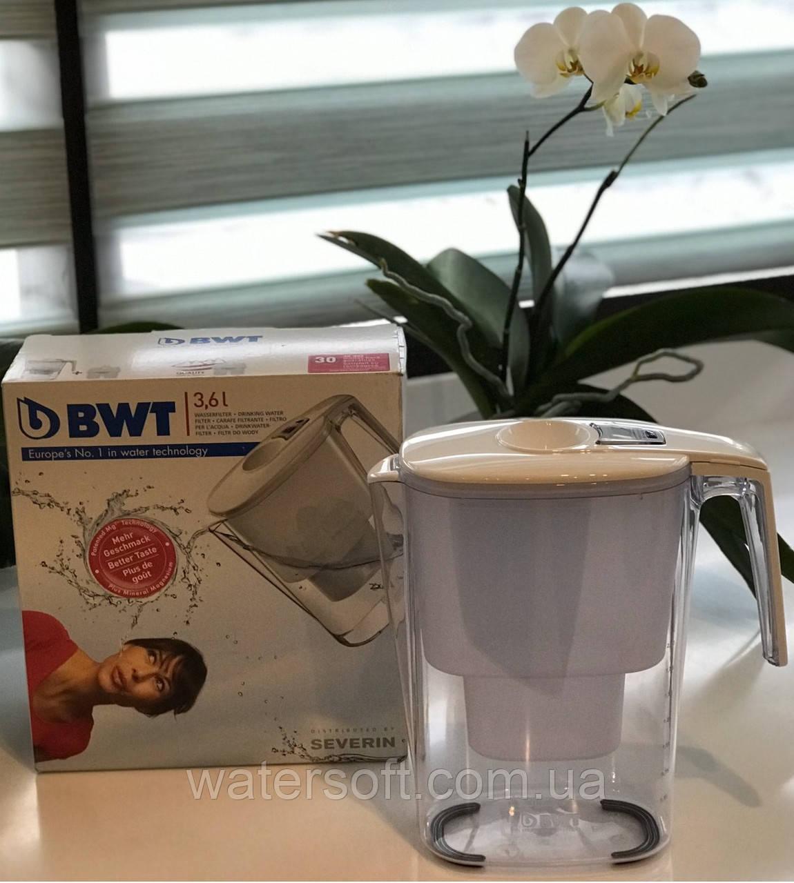 Фильтр кувшин 3,6л BWT Австрия с LED индикатором ресурса