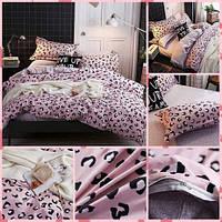 Комплект постельного белья Розовая Пантера, евро размер 4 наволочки