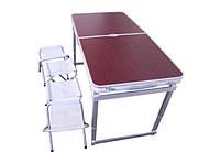 Усиленный стол туристический, раскладной стол для пикника ZZ18007, фото 1