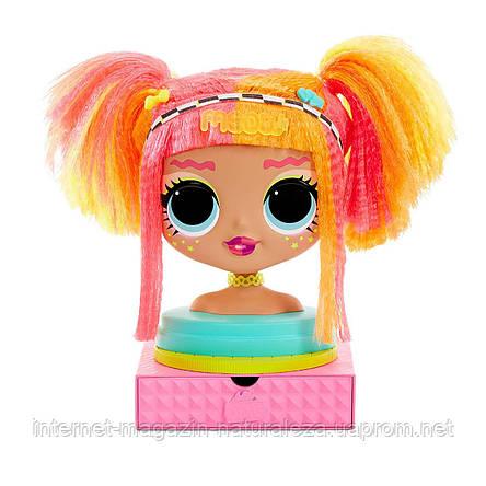 Lol omg styling head Neonlicious, лол зачіски, фото 2