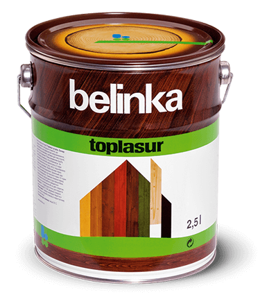 BELINKA Toplasur, лазурь для дерева, сосна (13), 2,5л