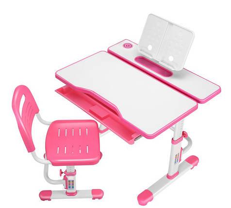 Эргономический комплект Cubby парта и стул-трансформеры Botero Pink, фото 2