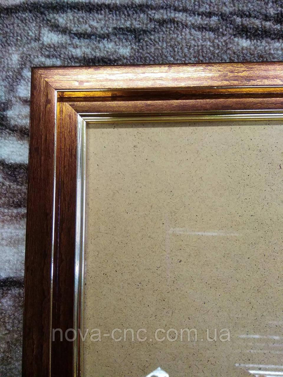 Рамка бронза 29,8 х 30 см