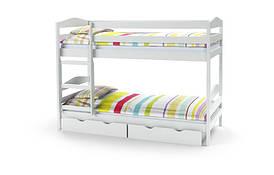 Ліжко дитяче SAM з матрацом білий Halmar