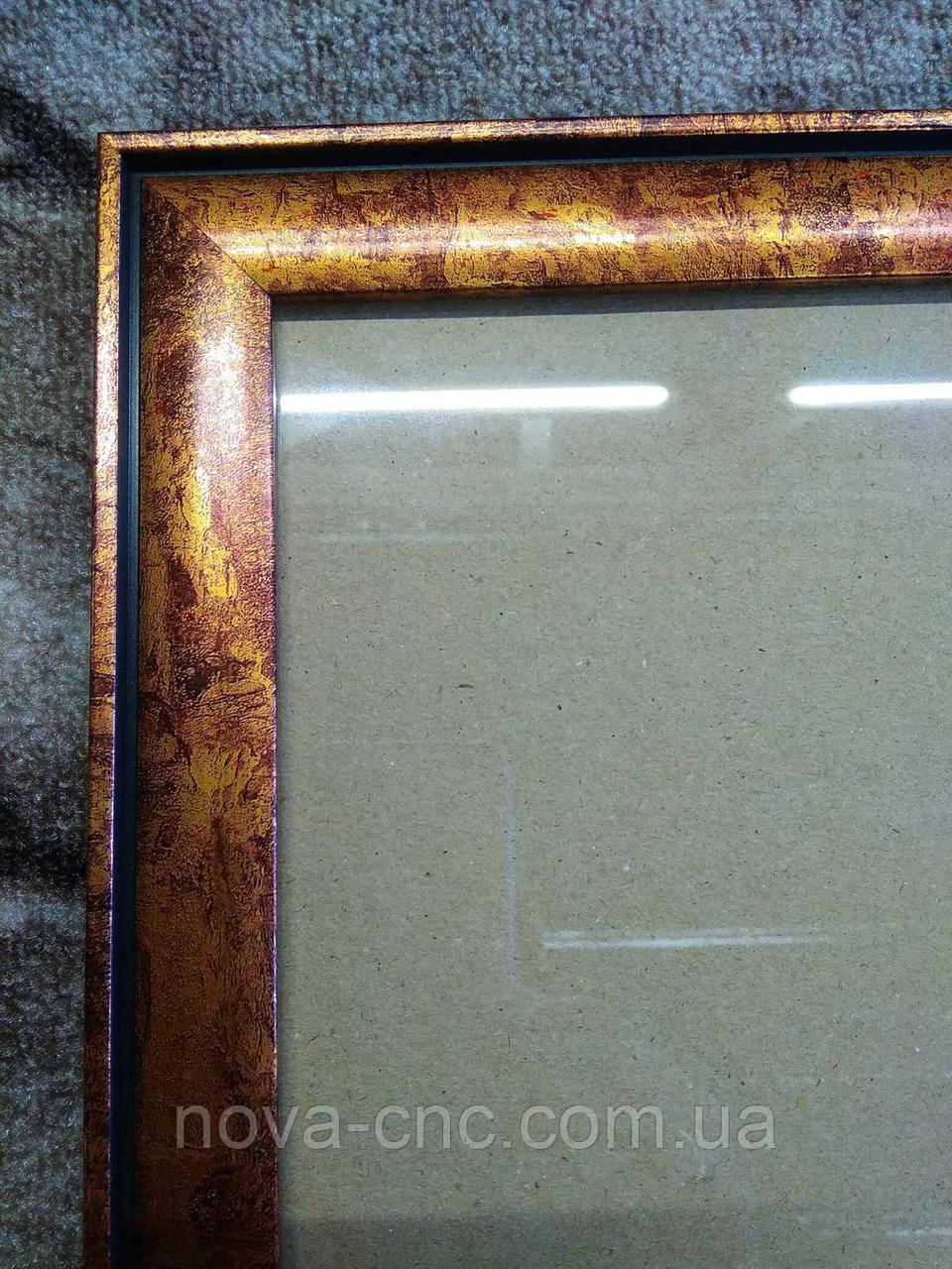 Рамка бронза мрамор 40 х 60 см