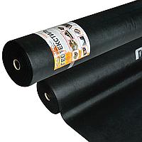 Геотекстиль 150 г/м² черный 1.6 х 25 метров