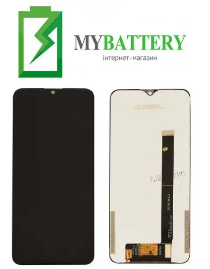 Дисплей (LCD) Umidigi Power с сенсором черный