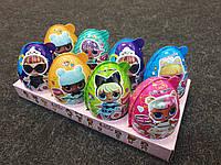 Яйцо сюрприз ЛОЛ с куклой L.O.L. иконфетами для девочки, 8 шт.
