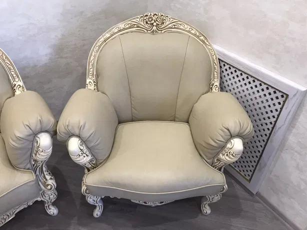 Кресло Ника (кожа) Курьер