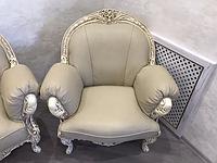 Кресло Ника (кожа) Курьер, фото 1