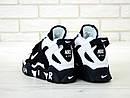 Мужские кроссовки Nike Air Barrage Mid QS Peak white/black, фото 2
