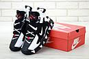 Мужские кроссовки Nike Air Barrage Mid QS Peak white/black, фото 3