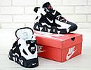 Кросівки Чоловічі Nike Air Barrage Mid QS Peak white/black, фото 6