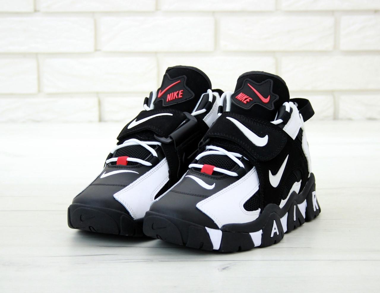 Кросівки Чоловічі Nike Air Barrage Mid QS Peak white/black