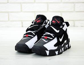 Мужские кроссовки Nike Air Barrage Mid QS Peak white/black