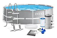 Каркасный бассейн Intex 26716 (366 x 99 см) лестница и насос