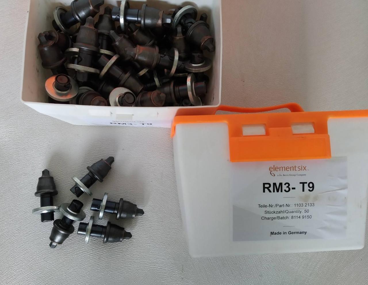 Резцы дорожные Elementsix RM3-T9